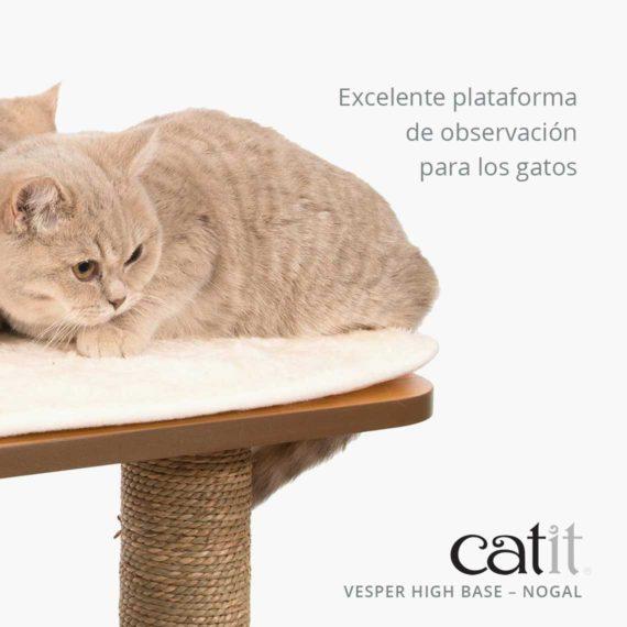 Catit Vesper High Base - Excelente plataforma de observación para los gatos