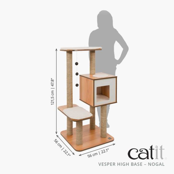 Catit Vesper High Base - Medición