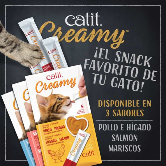 Catit Creamy - available in 3 Flavours