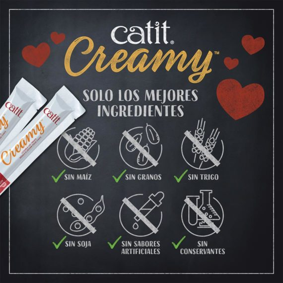 Catit Creamy - ingredients