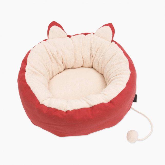Adorable-cat-design-red