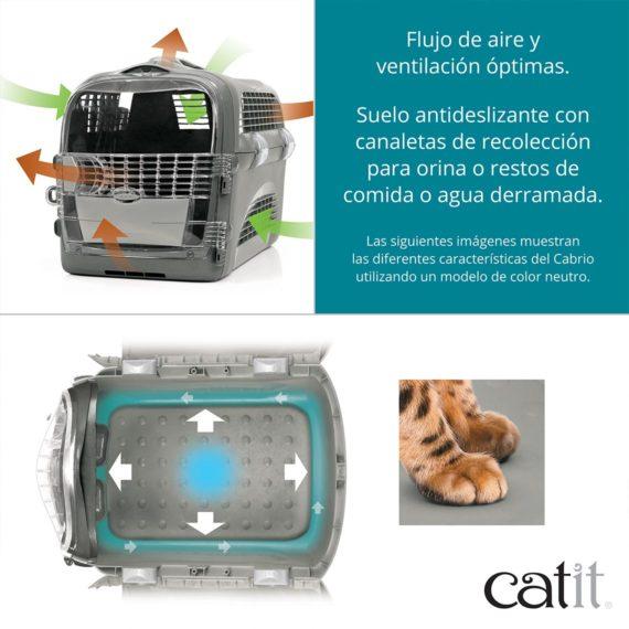 Flujo de aire y ventilación óptimas