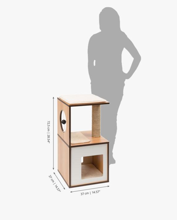 Measurements - Vesper Box Small_zonder logo