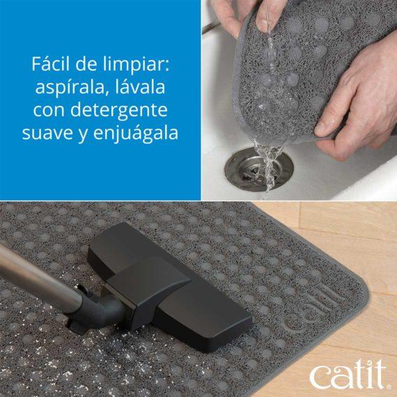 facil de limpiar aspirala lavala con detergente suave y enjuagala
