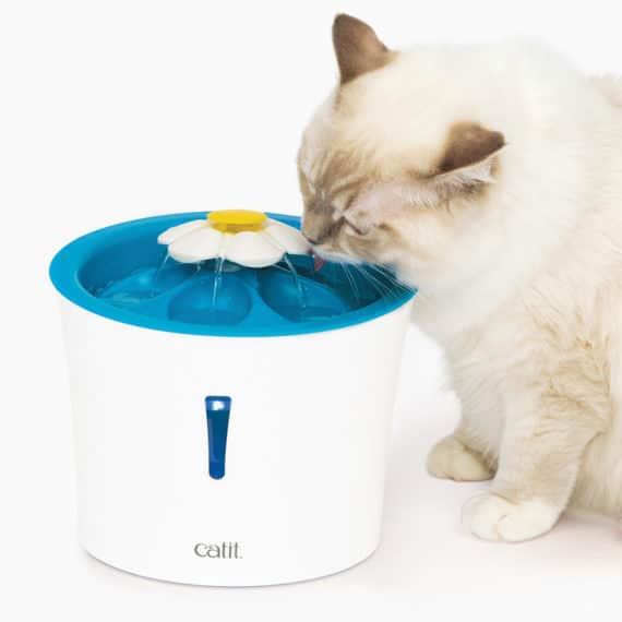 Fuente para gatos Catit Flower Fountain LED