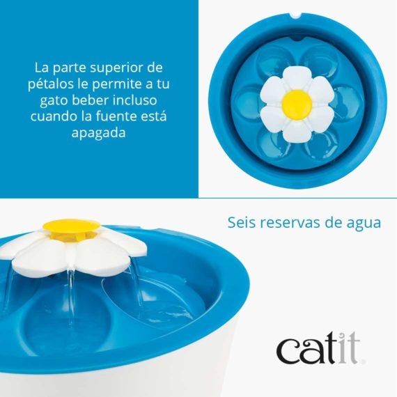 Características 1 - Flower Fountain LED