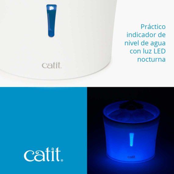Características 2 - Flower Fountain LED