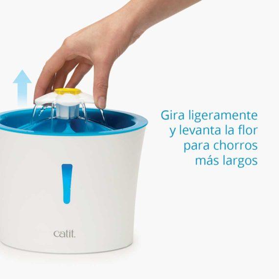Características 3 - Flower Fountain LED