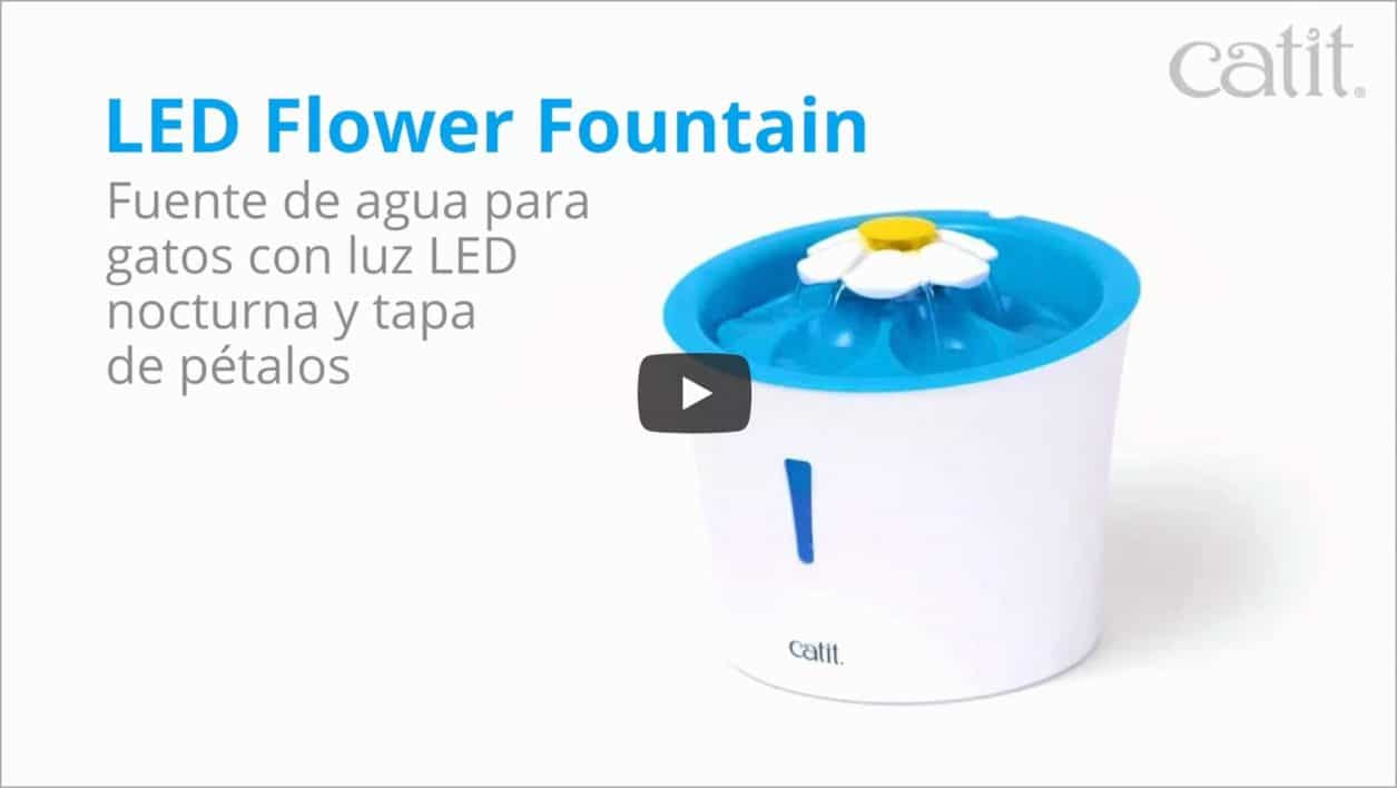 Mira el video de la Flower fountain LED