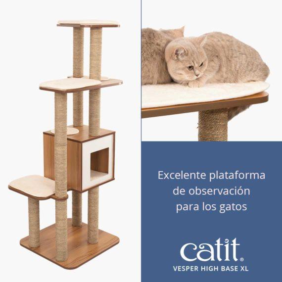 Catit Vesper High Base XL - Excelente plataforma de observación para los gatos