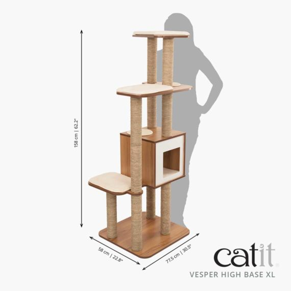 Catit Vesper High Base XL - Dimensión