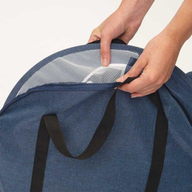 El Vesper Rocket es fácil de desmontar y de guardar en la bolsa de almacenaje incluida.