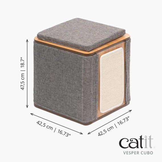Catit Vesper Cubo - Mediciones