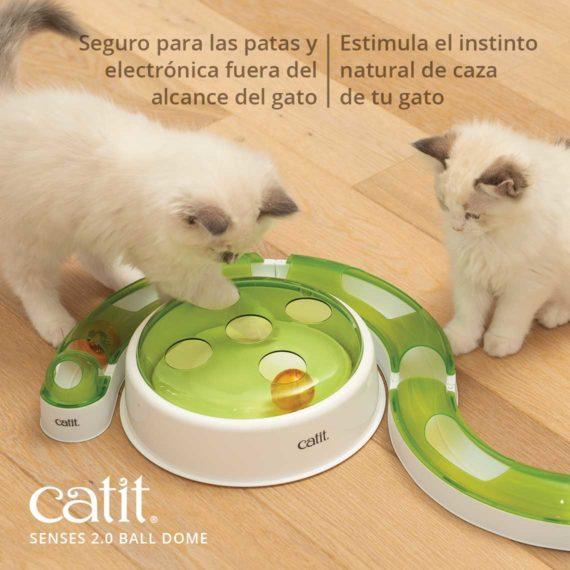 Seguro para las pata y electronica fuera del alcance del gato - Estimula el instinto natural de caza de tu gato