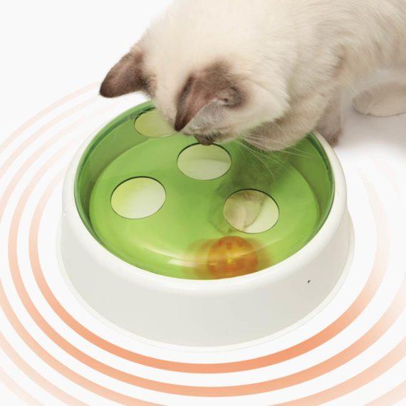 Juguete interactivo para gatos Catit Ball Dome
