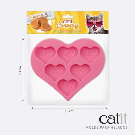 43860 - Molde para Helados en Forma de Corazón - product panel 4
