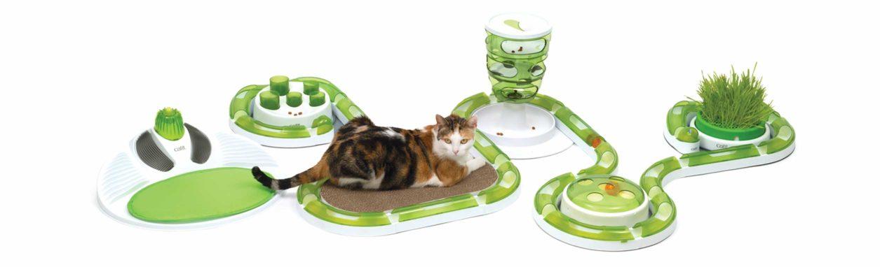 Línea de juguetes interactivos para gatos Catit Senses 2.0