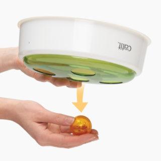Como sacar la pelota del juguete interactivo para gatos Ball Dome