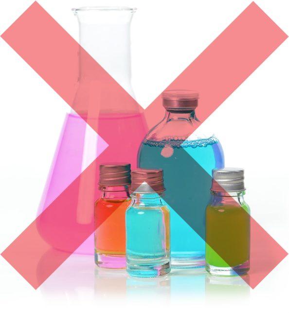 Sin perfume y sin productos químicos