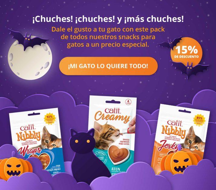 Chuches! Chuches! Y mas Chuches! - Dale el gusto a tu gato con este pack de todos nuestros snacks para gatos a un precio especial - mi gato lo quiere todo