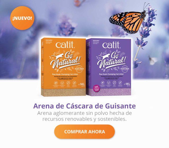 Arena de Cáscara de Guisante - Arena aglomerante sin polvo hecha de recursos renovablesy sostenibles - Comprar Ahora