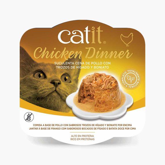 44705 - Catit Dinner de Pollo con Ternera y Calabaza