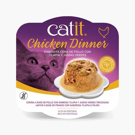 44706 - Catit Dinner de Pollo con Tilapia y Judías Verdes
