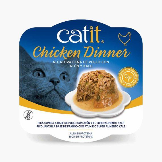 44704 - Catit Dinner de Pollo con Atún y Kale
