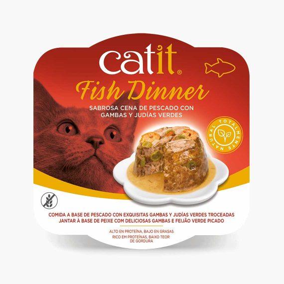 44715 - Catit Dinner de Pescado con Gambas y Judías Verdes
