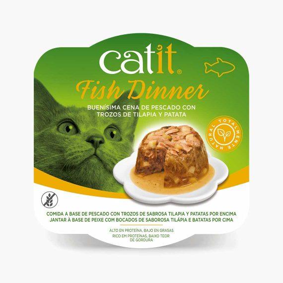 44713 - Catit Dinner de Pescado con Tilapia y Patatas