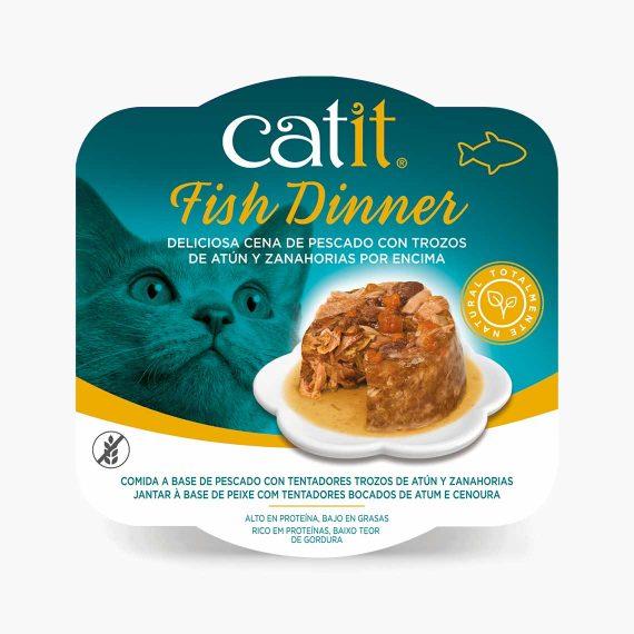 44711 - Catit Dinner de Pescado con Atún y Zanahorias