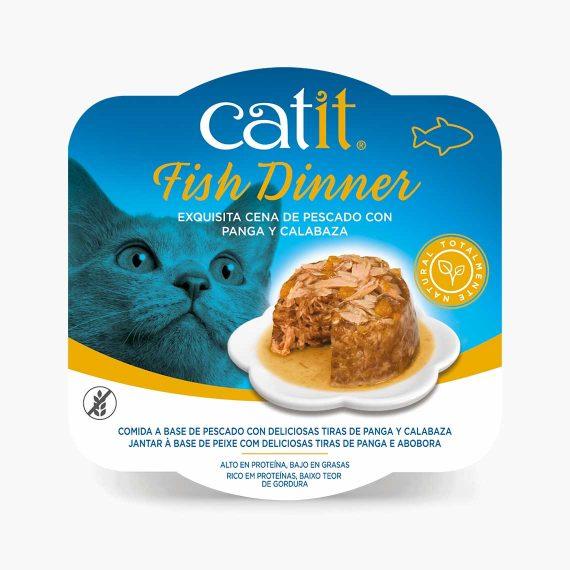 44714 - Catit Dinner de Pescado con Panga y Calabaza