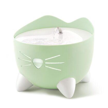 43718 Fuente para gatos PIXI verde